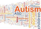 Autism background concept