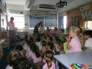 Health Talk for Primary School Children 2012
