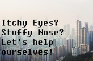 Air pollution hangs over Hong Kong Island