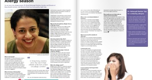 "alt""Southside Magazine, Allergy Season, Homeopath, Nutrition"""