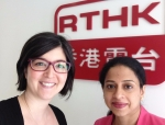 Rosie Duffield and Dr. Sonal , Interview on Radio about Homeopathic Medicine in Hong Kong